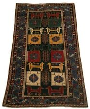 """Caucasian Vintage, One-of-a-Kind, rug - 3'11"""" x 6'0"""""""