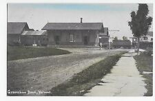 Greensboro Bend Vermont Vt Railroad Depot Train Vintage Postcard