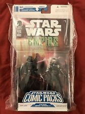 Darth Vader & Admiral Trachta Star Wars Figure Comic 2Pack New