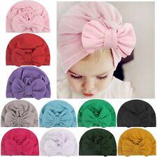 Baby Headband Bow Turban Hat Cap Headband Hair Band Headwear For Girls Kids RLM