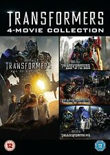 TRANSFORMERS 4 MOVIE COLLECTION QUADRILOGY Films 1- 4  DVD Box Set  NEW REGION 2