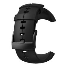 Suunto Spartan Sport Wrist HR All Black Silicone Watch Band Strap SS022687000