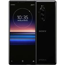 Sony Xperia 1 128GB Black Unlocked (J8110) + Mulbess Leather Case