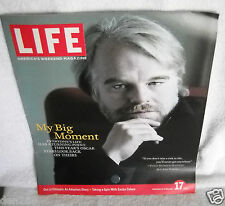 #8937 LIFE Weekend Magazine Weekend of February 17, 2006 Philip Seymour Hoffman