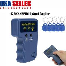 125khz Handheld Rfid Duplicator Key Copier Reader Writer Id Card Cloner With5 Keys