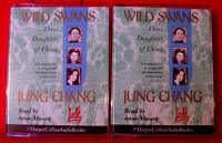 Jung Chang Wild Swans Three Daughters Of China 4-Tape Audio Bk Anna Massey Biog