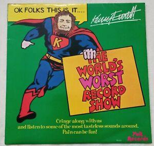 "Kenny Everett - The World's Worst Record Show - 12"" Vinyl Album - 1978"