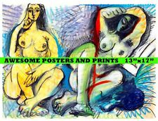 """Pablo Picasso Nude DEUX NUS, Reproduction Giclee Print 13""""x17"""""""