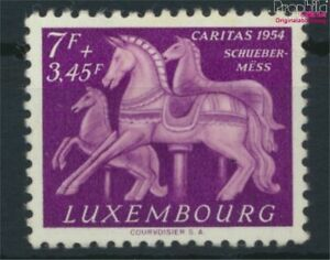 Luxembourg 530 with hinge 1954 Caritas (9613560