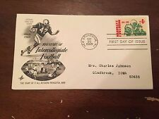 1969 100 Years Of Intercollegiate Football First Day Cover