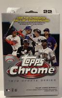 ✅⚾️🔥2020 Topps Chrome Update Series Hanger Box MLB IN HAND Sealed Robert???