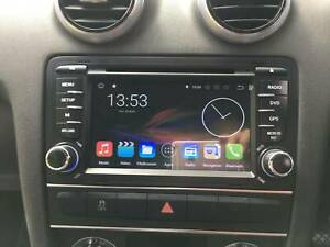 """07to2013 Audi A3 8.1""""Android system with built in wireles carplay"""