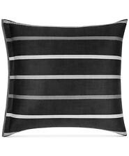 Pair of Hotel Collection Colonnade European Shams Dusk Black $340