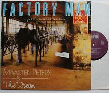 Maarten Peters & The Dream Factory Man 1987 Synthpop 12in Extd. Vers.