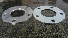 "Two (2) hub centric spacers bolt pattern 5x4.5"" CB 60.1mm thickness 8mm"