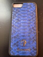 Genuine Leather Python Snake Skin Cover Case For iPhone X And  7