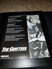 The Grifters Rare Original Academy Awards Promo Poster Ad Framed! #2
