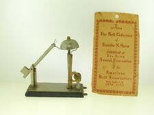 Rare 19Th C. Exhibited Prototype Patent Model Bell -Part Of Important Collection