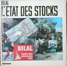BILAL - L'ETAT DES STOCKS - FUTUROPOLIS PARIS 1986