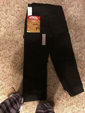Dickies Mens Bib Overalls Black  Zipper Fly Authentic Work 34x29 100% Cotton New