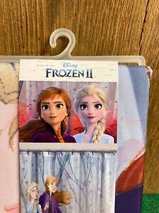 "Disney Frozen 72"" x 72"" Fabric Shower Curtain * Elsa, Anna* NWT"
