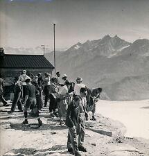 BREUIL c. 1950 - Plateau Rosa Alpes Italie - DIV 3448