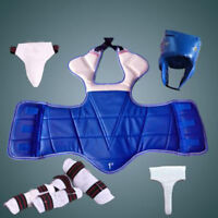6pcs/set Adults Children Thickening Taekwondo Sparring Equipment Protective Gear