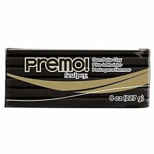 Premo Sculpey Polymer Clay 8oz Black 715891504055