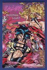 Razor : Bleeding Heart #1 Wrap Variant cover 2001 Avatar Hellina