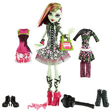 MONSTER High Venere McFlytrap I Heart FASHION BAMBOLA DA COLLEZIONE RARO bhm99