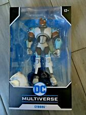 McFarlane DC Multiverse Cyborg Teen Titans Action Figure .