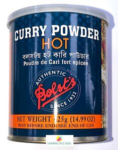 BOLSTS CURRY POWDER - HOT/ MILD - MEAT, FISH, POULTRY SEASONING - 100g / 425g