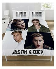 JUSTIN BIEBER - MONTAGE - fits QUEEN bed QUILT DOONA DUVET COVER SET