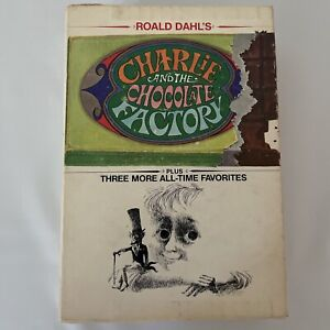 Vintage Charlie and the Chocolate Factory Plus 3 More All Time Favorite Book Set