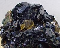 LAZULITE RARE Extremely LARGE  Crystals Fine Mineral Specimen Yukon, Canada