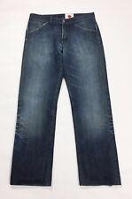E play japan denim jeans uomo w33 tg 47 usato rilassato comodo usato blu T2413