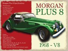 MORGAN PLUS 8, classico BRITANNICO auto sportive, V8,