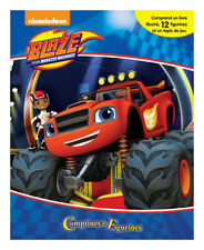 Phidal Publishing Blaze And The Monster Machines Busy Book
