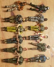 Vintage 1980's 90'S Lanard The Corps Figure Lot of 12 Desert Scuba Camo