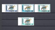 """ETHIOPIA 1994 """"Simien Fox"""" Michel  1509/12 MNH Cat £300"""