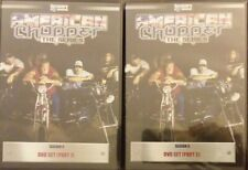 American Chopper The Series DVD Season 5 Part 1 & 2 Set Lot Discovery Channel NU