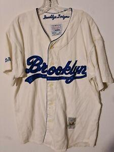 vintage starter throwback brroklyn dodgers jersey m
