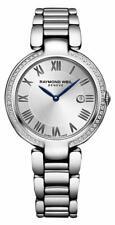 Raymond Weil Shine Diamond Stainless Steel Ladies Swiss Watch 1600-STS-00659
