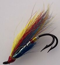 Salmon Flies SILVER DOCTOR Doubles sizes 4- 10 Pack of EIGHT (8) #164