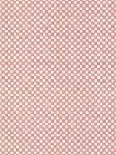 Faded Red and Cream Small Check Wallpaper HM26364