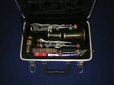M. LACROIX PARIS WOOD BODY CLARINET, YAMAHA MOUTHPIECE in GOOD PLAYING CONDITION