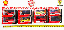 Cars Ferarri Shell Malaysia Collectibles 8 Models 1:43 Diecast Limited Edition
