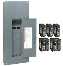 Square D 200 Amp 30 Space 60 Circuit Main Electrical Panel Breaker Center Load