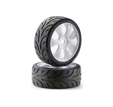 "Absima 1/8 LP Buggy On Road ""Street"" Wheels/Tyres 17mm Hex HPI Trophy 2530004"