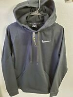 """NWT Nike Men's Thermal Hoodie Pullover Black Size Medium(42""""Chest/28""""Length)"""